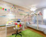 Chambre d'enfants aux touches nordiques