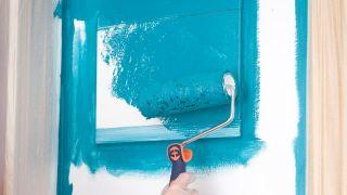 Peindre le mur du couloir étape 7