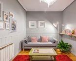 Décorez une pièce chaleureuse et confortable en gris