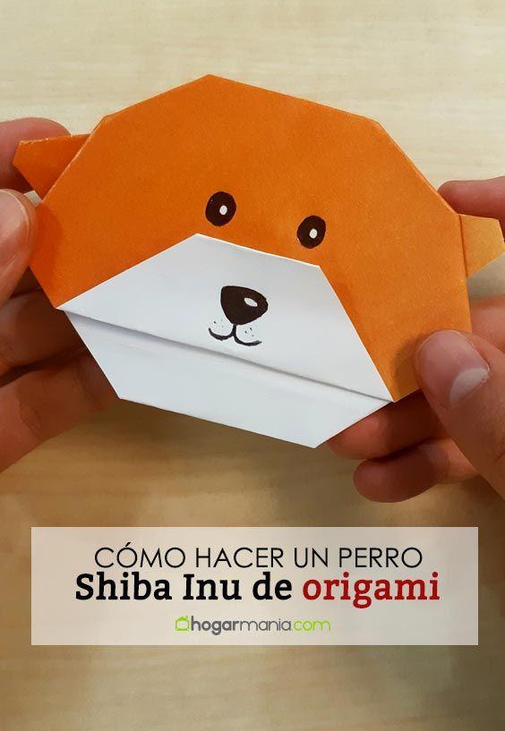 Comment faire un chien Shiba Inu en origami