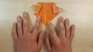 Comment faire un chien Shiba Inu en origami Étape 4