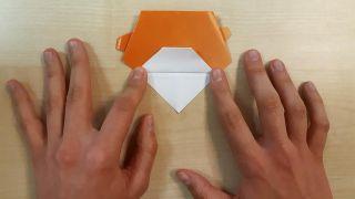 Comment faire un chien Shiba Inu en origami Étape 7