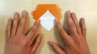 Comment faire un chien Shiba Inu en origami Étape 6