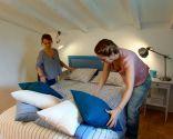 chambre couple blanc bleu - étape 9