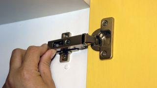 Portes d'armoires de cuisine laquées