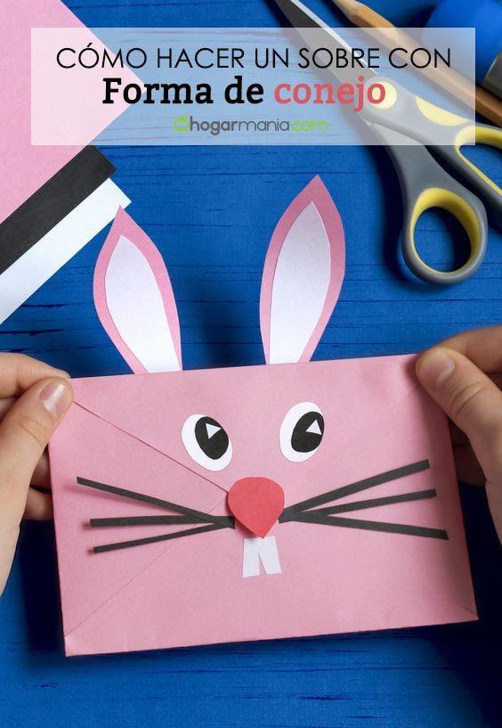 Comment faire une enveloppe de lapin