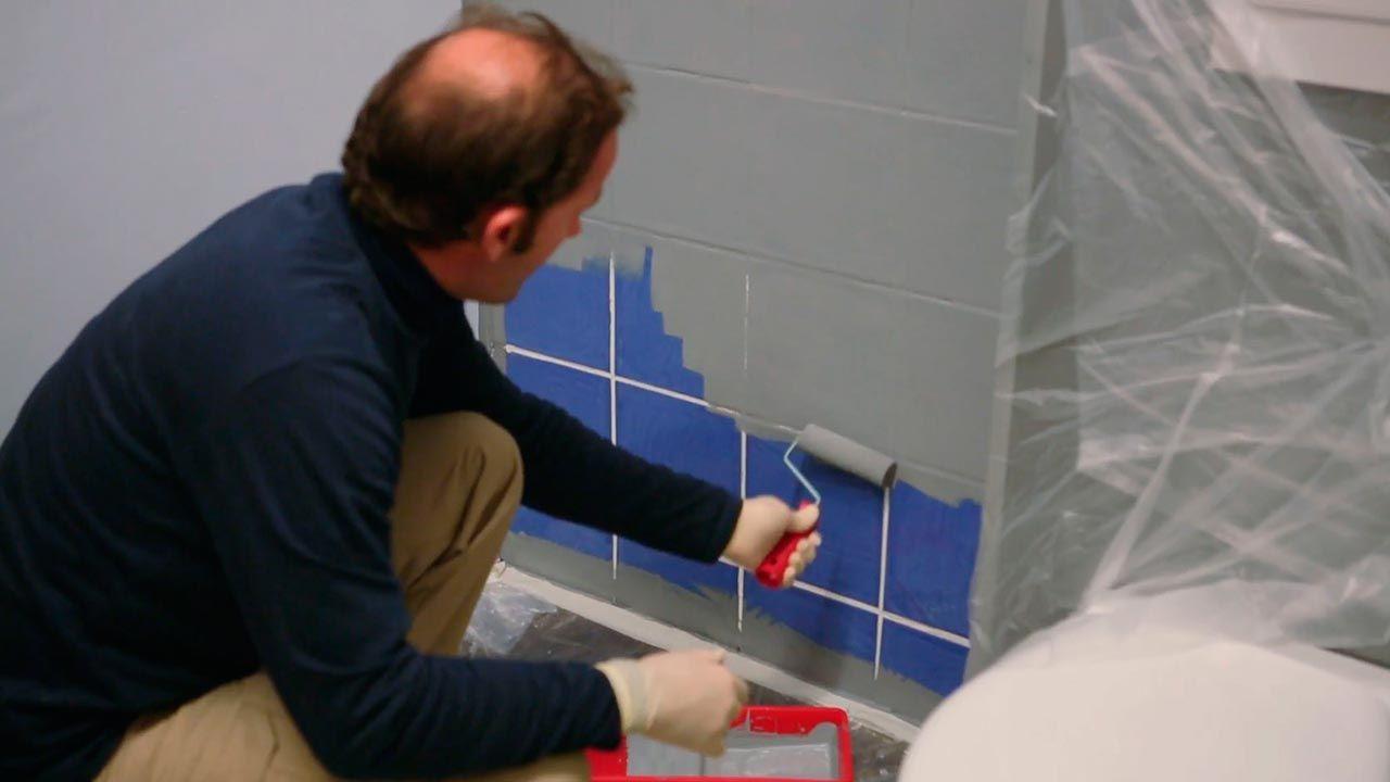 Comment peindre les carreaux de salle de bain