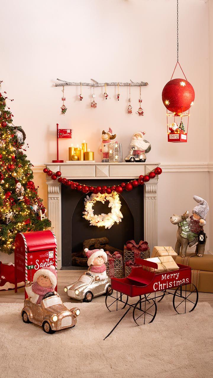 Décoration de Noël à l'américaine