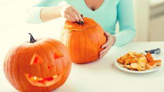 Comment sculpter une citrouille pour Halloween - Étape 4