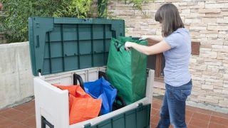 Coffre de recyclage