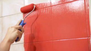 Rénover la salle de bain sans travaux - Étape 2