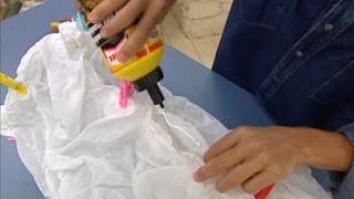 Comment faire une lampe en tissu - Étape 6