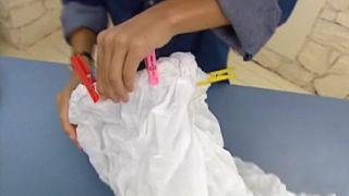 Comment faire une lampe en tissu - Étape 5
