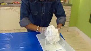 Comment faire une lampe en tissu - Étape 3