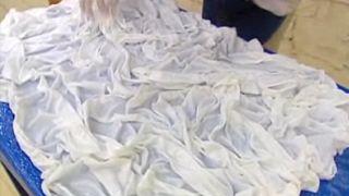 Comment fabriquer une lampe en tissu - Étape 4