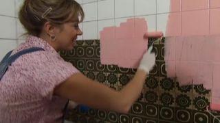 Rénovez une cuisine sans faire de travaux, en rose!  - Étape 2