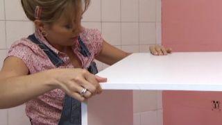 Rénovez une cuisine sans faire de travaux, en rose!  - Étape 3