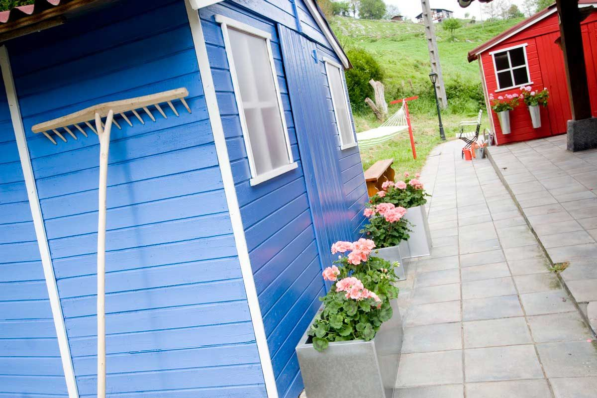 cabines de jardin