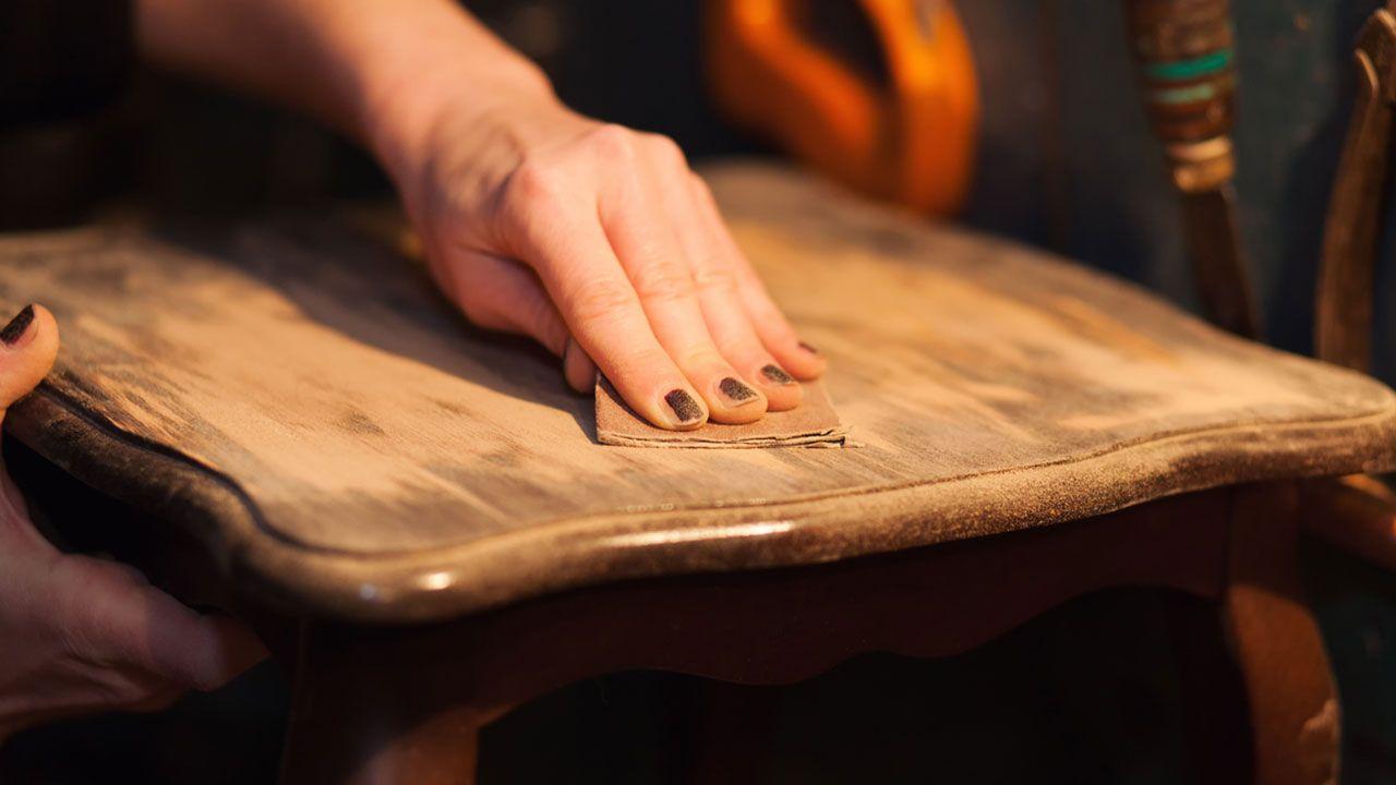 Restaurer un meuble classique