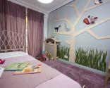 Chambre d'enfants inspirée de la nature