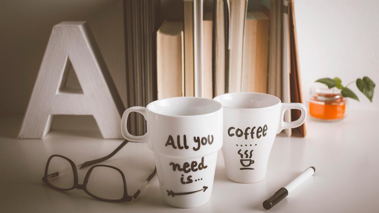 Comment peindre et personnaliser un mug