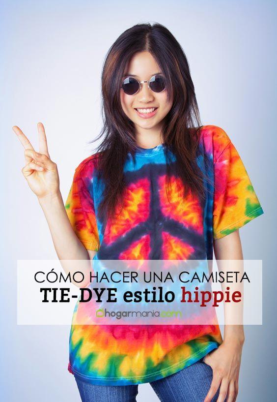 Comment faire une chemise tie-dye hippie