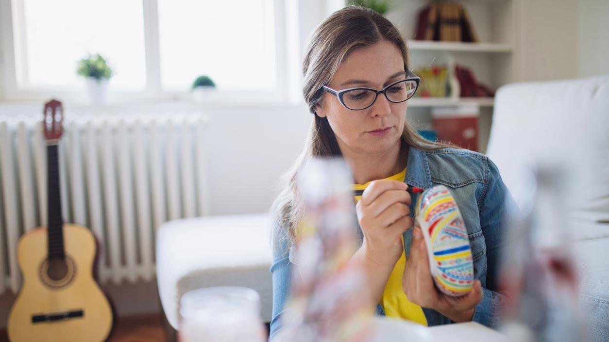 Marqueurs pour peindre des tasses