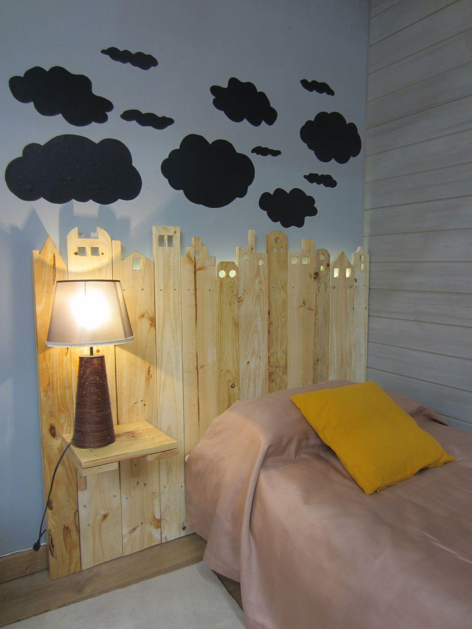 Idées pour faire des têtes de lit avec des lattes en bois
