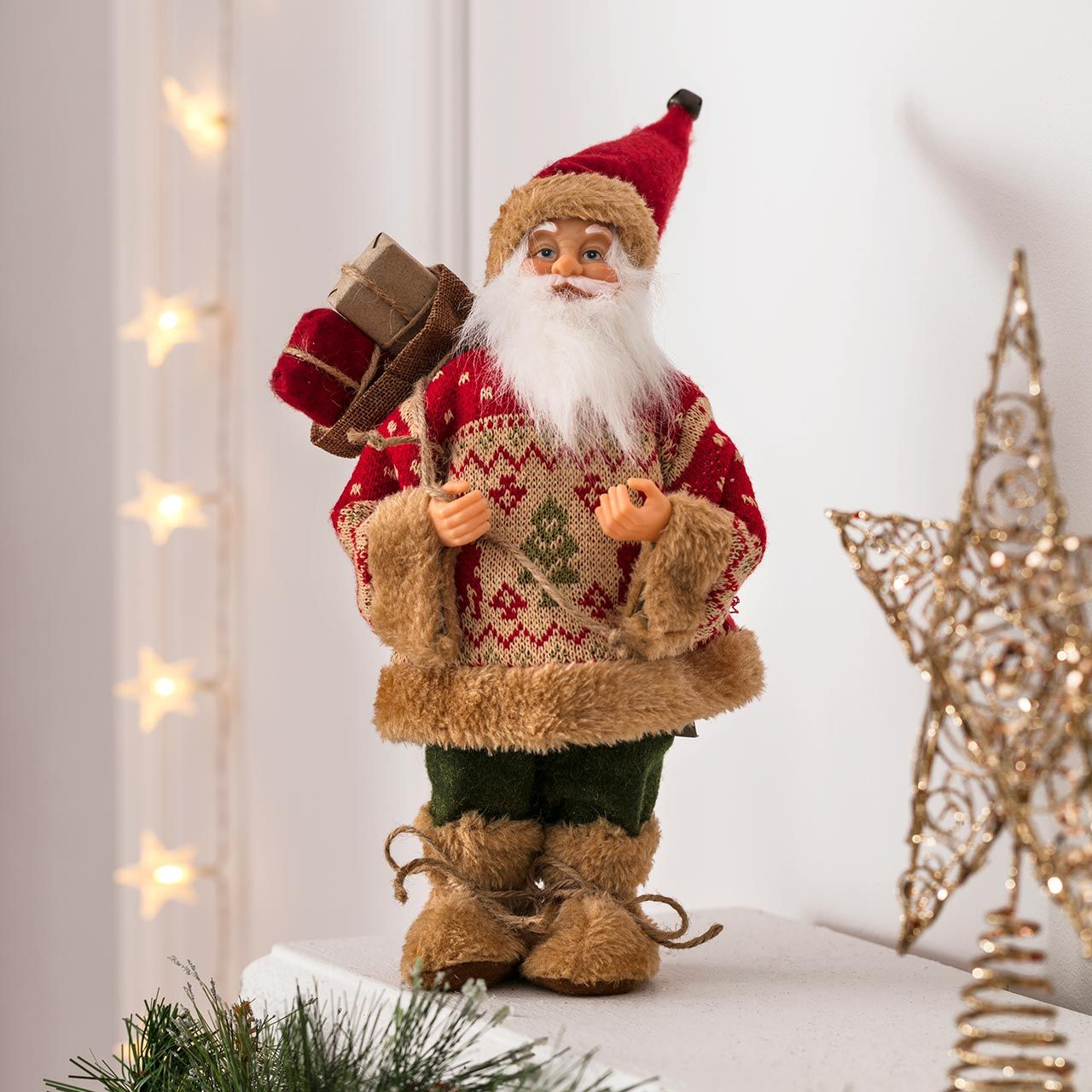 Décoration de Noël traditionnelle par Leroy Merlin