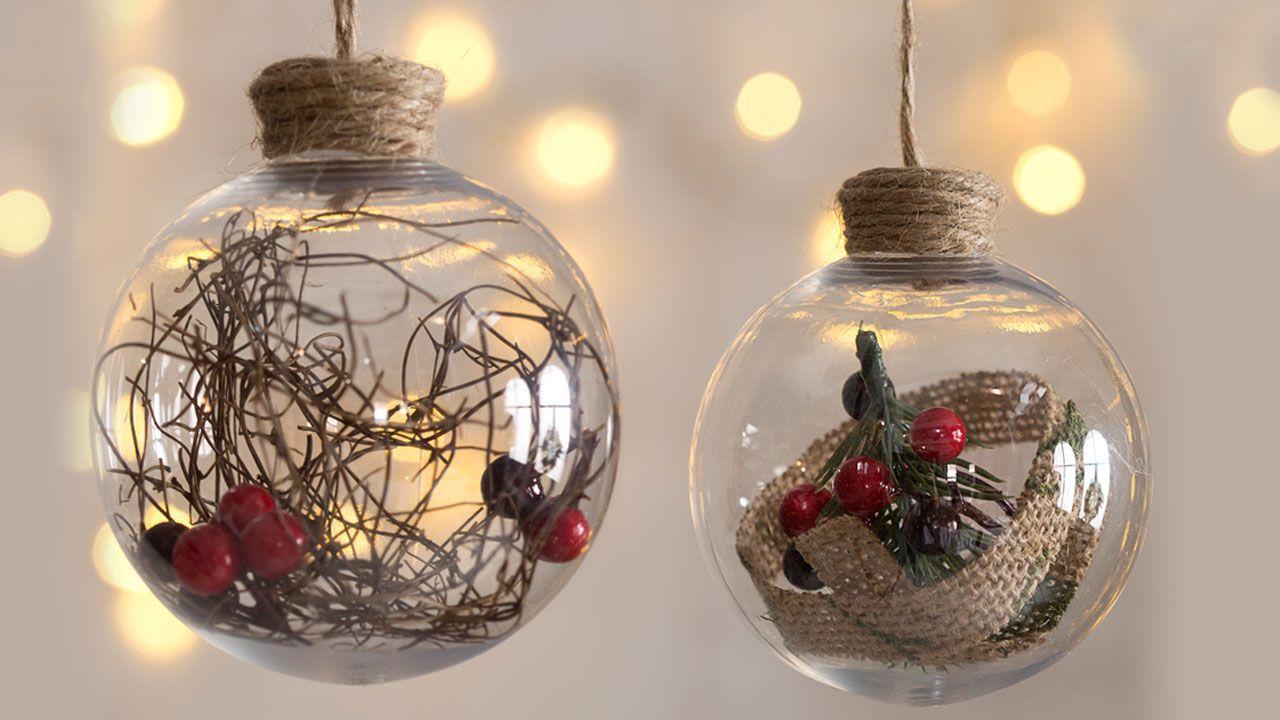 Boules pour le sapin de Noël