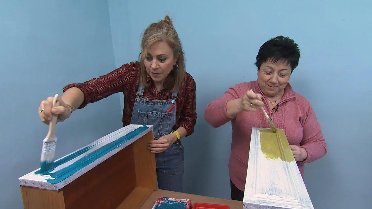 Types de peinture: Peinture à l'eau