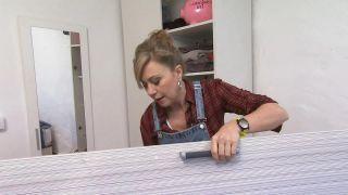 Comment tapisser un placard avec du vinyle - Étape 1