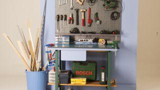 Panneau d'organisation des outils