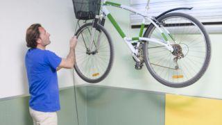 Ascenseur à vélos pour garage