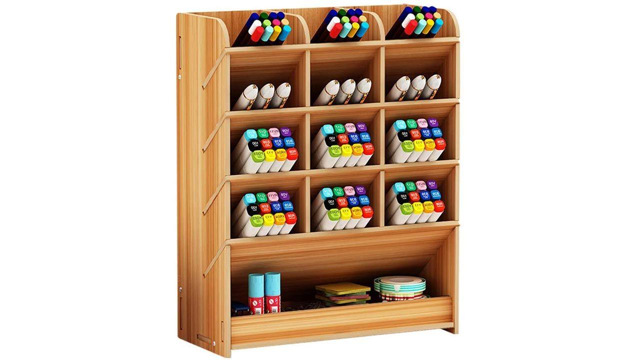 Armoire pour crayons, stylos et peintures
