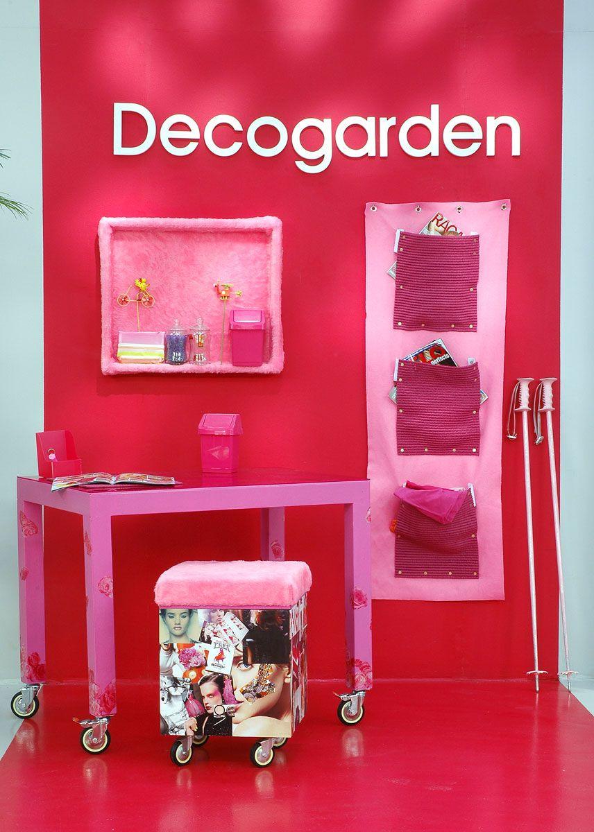 décorer le studio rose