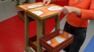 Comment transformer un tabouret en meuble pour la salle - Étape 7