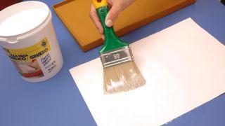 Transformez un tabouret en meuble d'entrée - Étape 4