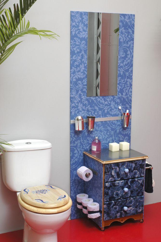 murale de salle de bain intégrale