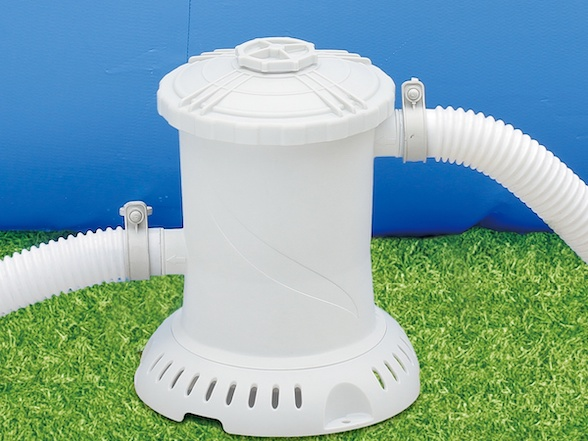 Filtration à cartouche pour piscines hors-sol
